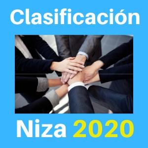 clasificación de niza