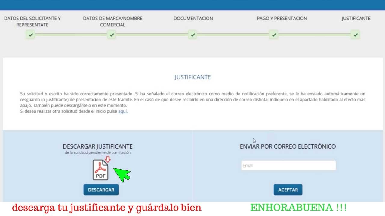 como registrar una marca en España en 2020