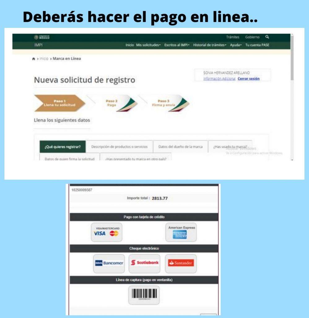 paso 5 registrar marca en mexico